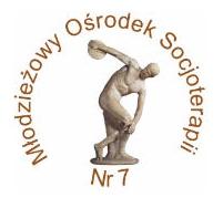 Logotyp Młodzieżowego Ośrodka Socjoterapii nr. 7