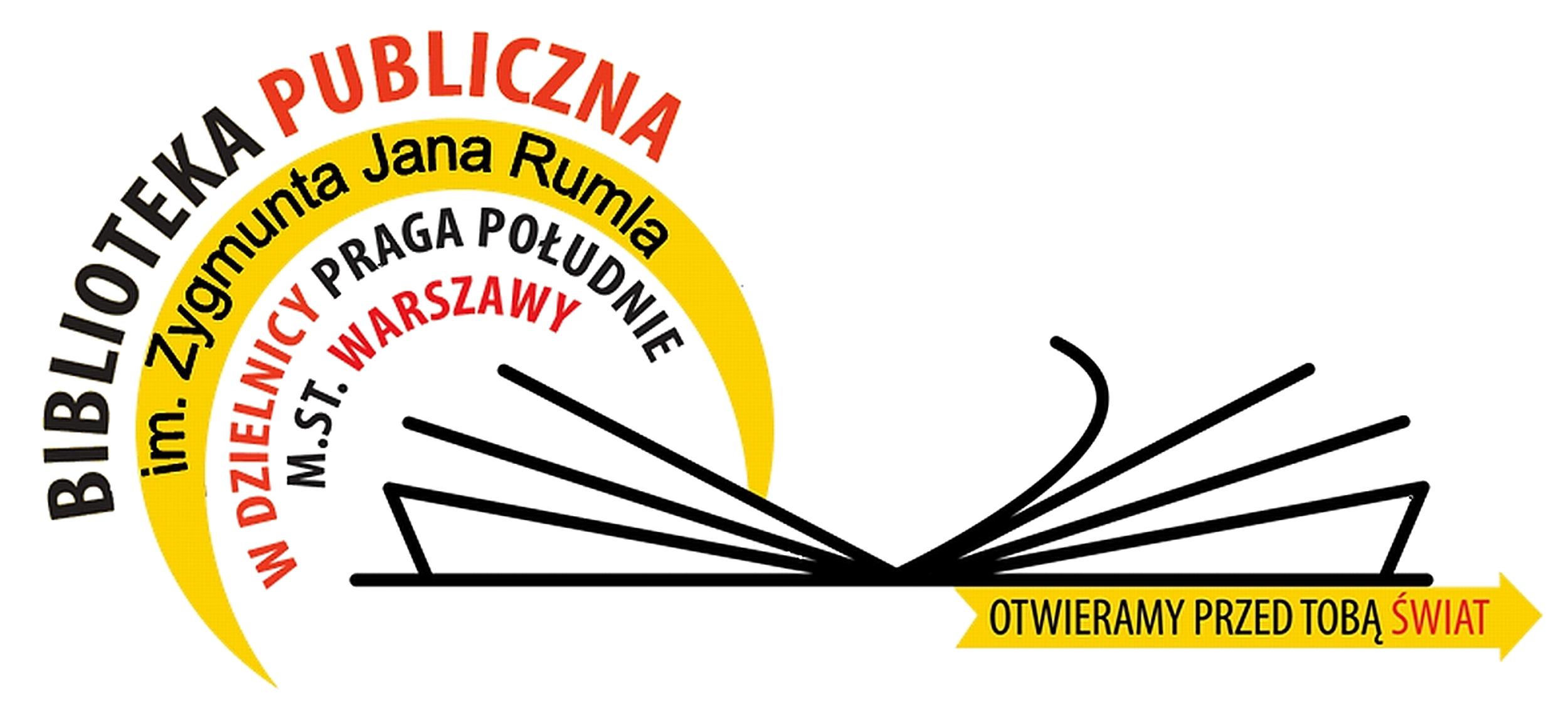 Logotyp Biblioteki Publicznej m.St. Warszaway - Praga-południe