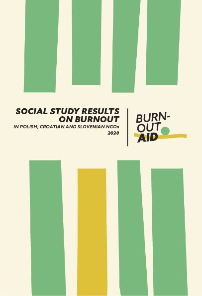 Social study results on burnout in Polish, Croatian and Slovenia  NGOs 2020